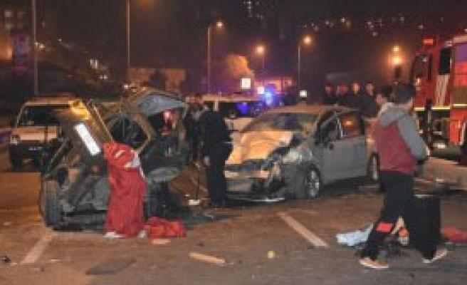 Gaziosmanpaşa'da Trafik Kazası