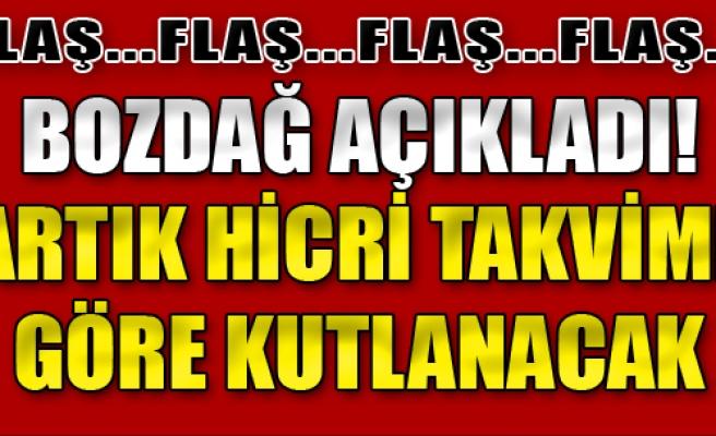 Diyanet'ten 'Hicri Takvim' Kararı! Bakan Açıkladı