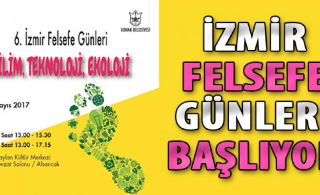 İzmir Felsefe Günleri Başlıyor