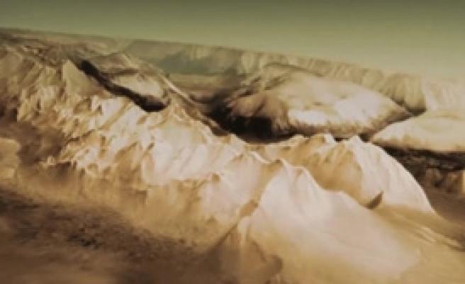 Mars'ın Haritası Ortaya Çıktı