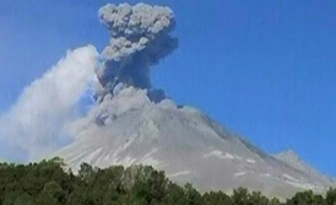 Popocatepetl Yanardağı Uyandı 