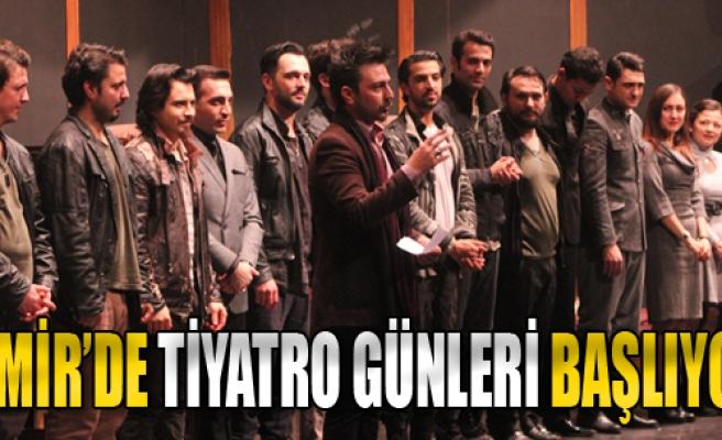 İzmir'de Tiyatro Günleri Başlıyor