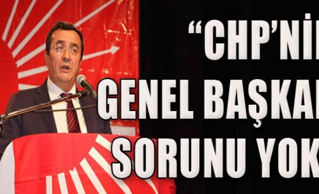 'CHP'nin Genel Başkan Sorunu Yok'