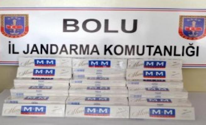 950 Paket Kaçak Sigara Ele Geçirildi