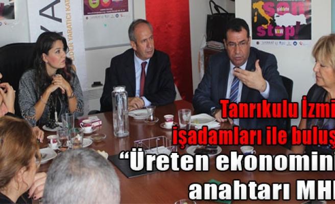 'Üreten Ekonominin Anahtarı MHP'