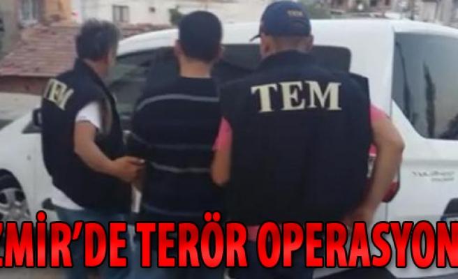 İzmir'de El-Nusra Operasyonu