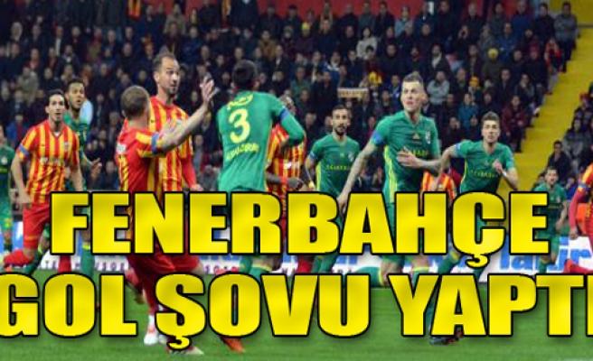 Kayserispor: 0 - Fenerbahçe: 5