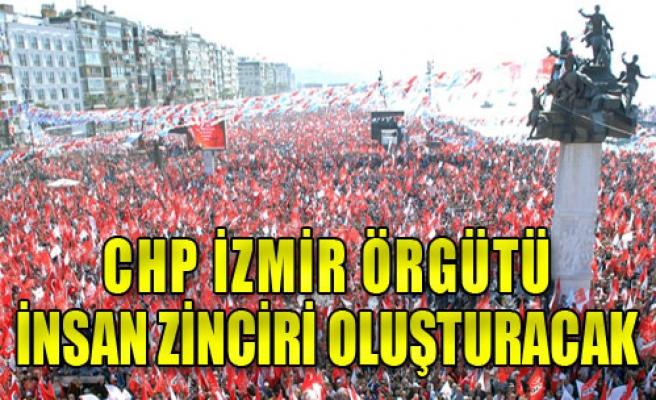 CHP İzmir, Zincire Hazırlanıyor
