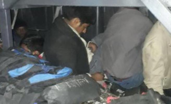 Ağrı'da 294 Kaçak Yakalandı
