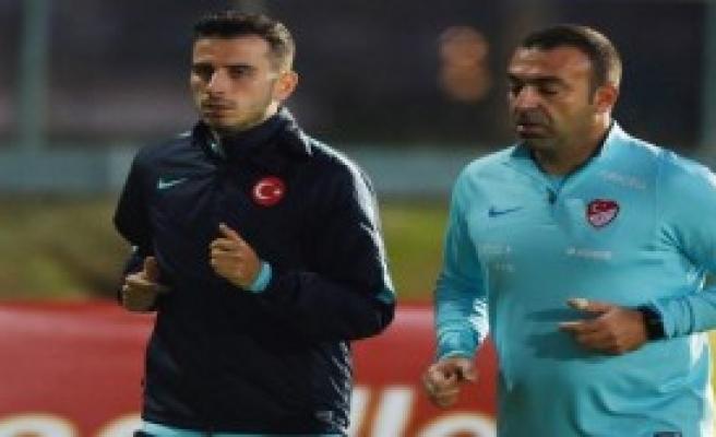 A Milliler, Arnavutluk Maçı Hazırlıklarını Sürdürdü