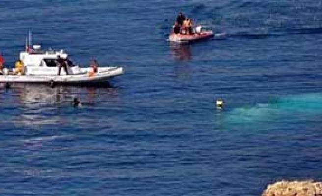 Göçmen Kaçak Teknesi Battı