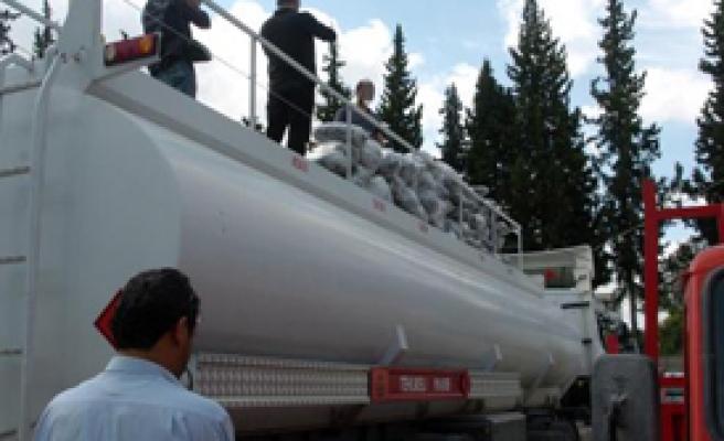 Tankerden 230 Kilo Esrar Çıktı