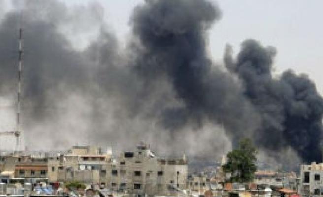 'İsrail Uçakları Suriye'yi Bombaladı'