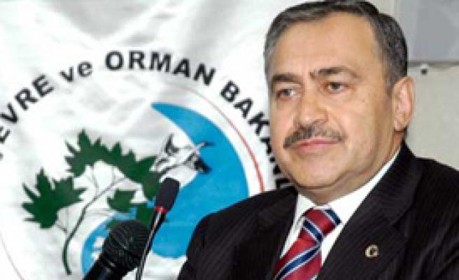 Bakan Eroğlu: Kuraklı Var Evet