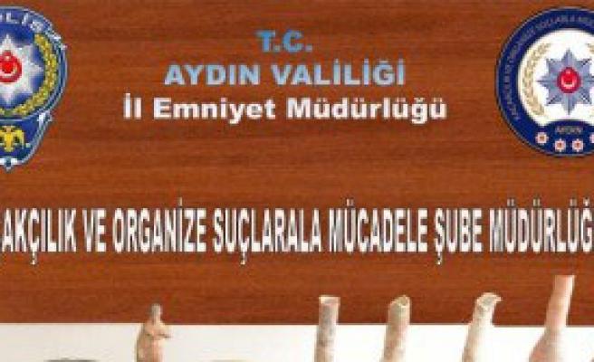 Aydın'da Tarihi Eser Operasyonu