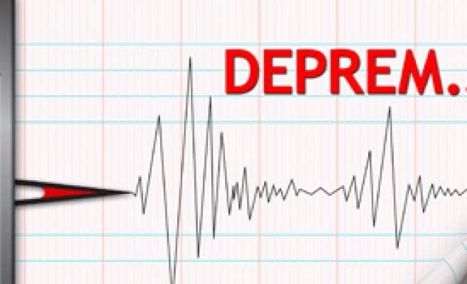 Simav'da 4.5 Büyüklüğünde Deprem