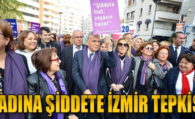 Kadına Şiddete İzmir Tepkisi