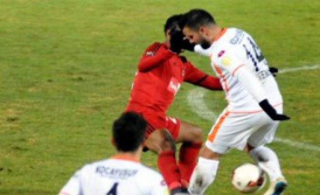 Gaziantepspor 1 - 1 Adanaspor