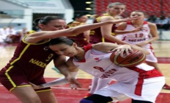 Abdullah Gül Üniversitesi Spor: 64 - Nadezhda : 71