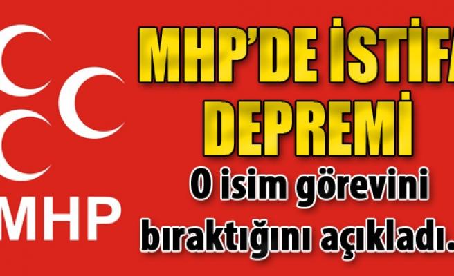 MHP'de İstifa Depremi