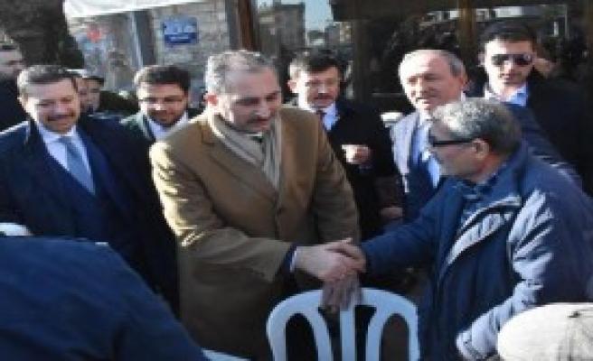 Adalet Bakanı Gül'den Esnaf Ziyareti