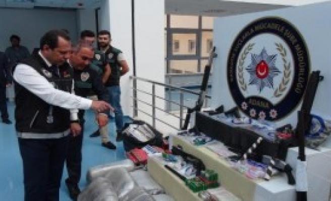2 Bin 500 Polis İle Hava Destekli Uyuşturucu Operasyonu