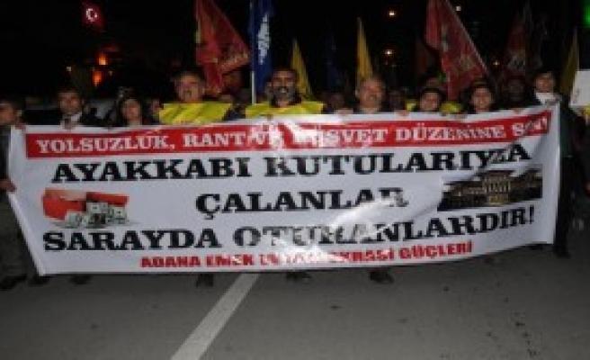 Adana'da 17 Aralık Protestosu