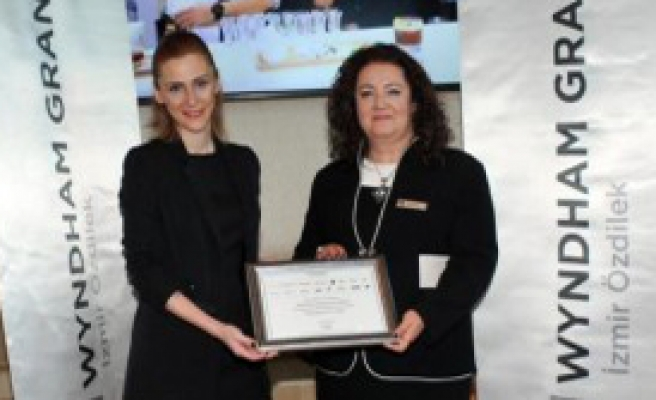 Wyndham Grand İzmir Özdilek'e Ödül