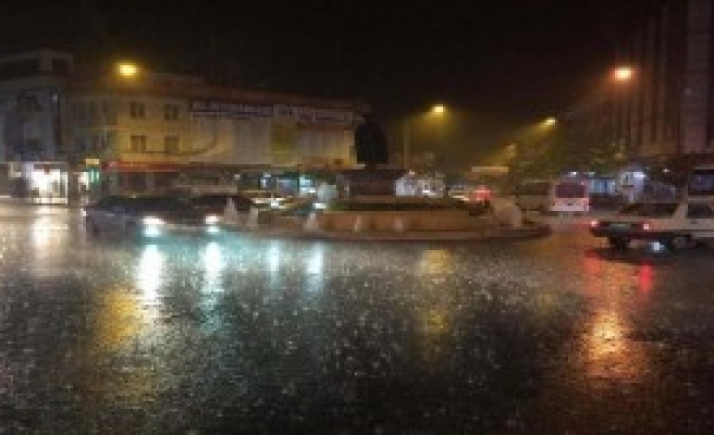Adıyaman'da Sağanak Yağış