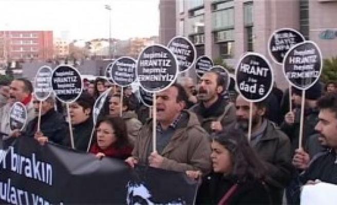 Çağlayan'da Hrant Dink Eylemi