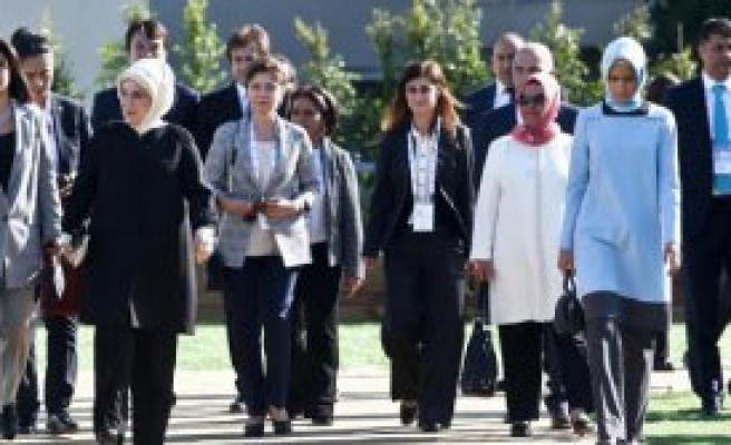 First Lady'ler Türk Kahvesini Öğrendi