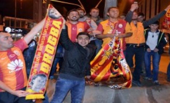Ağrı'da Galatasaray Coşkusu