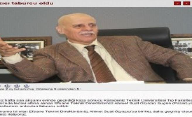 Ahmet Suat Özyazıcı Taburcu Oldu