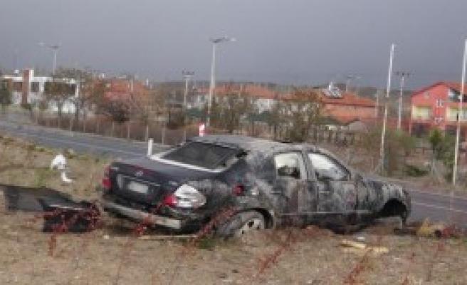 AK Partili Başkanlar Kazada Yaralandı