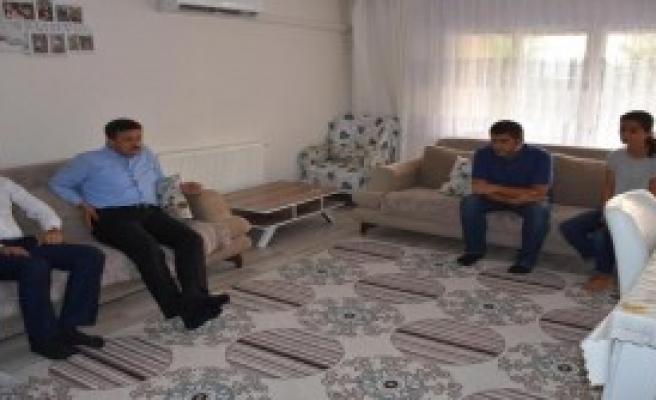 AK Partili Dağ'dan Ziyaret