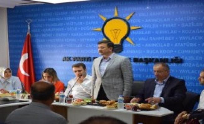 AK Partili Dağ Teşkilat Turunda