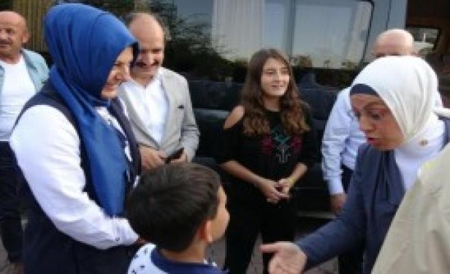Şehit Öğretmen Aybüke'nin Ailesine Ziyaret