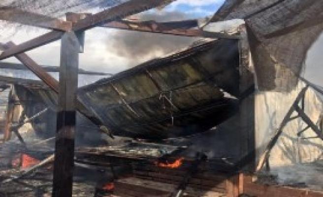Kiteboard Eğitim Alanında Yangın