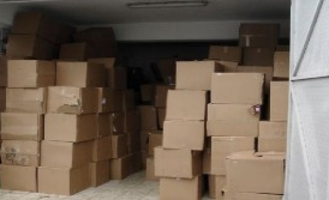 Amasya'da 268 Bin 880 Paket Kaçak Sigara