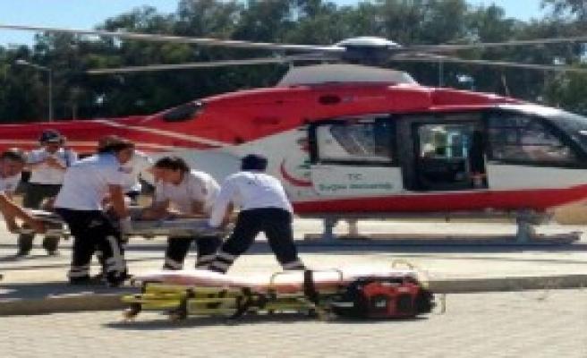 Ambulans Helikopterin Yeni Durağı Çiğli