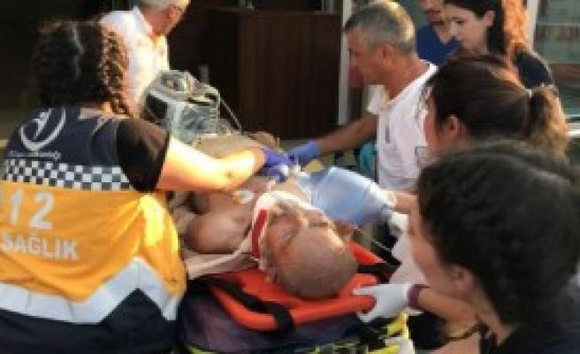 Ambulansın Çarptığı Yaşlı Adam Öldü