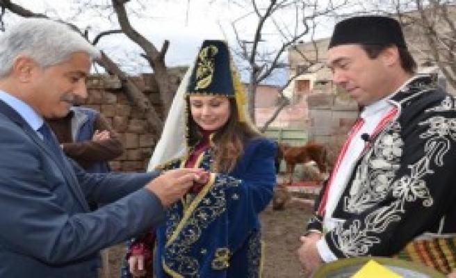 Kayseri'de Temsili Evlilik Töreni