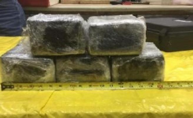 14 Kilo Kokain Yakalandı