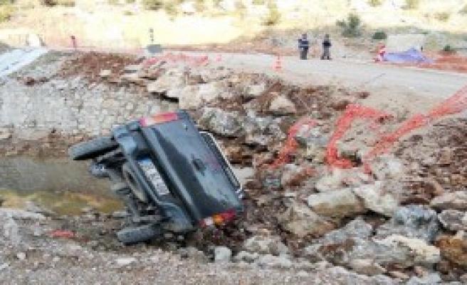 Andırın'da 2 Kaza 3 Yaralı