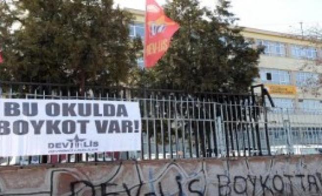Ankara'da Bazı Okullarda Boykot Var
