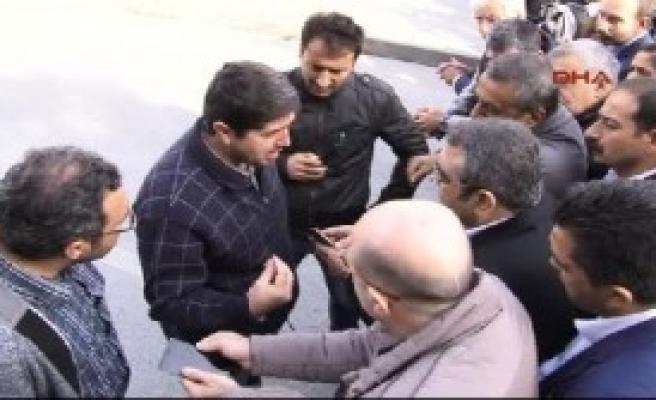 Ankara'daki Anmada Gerginlik