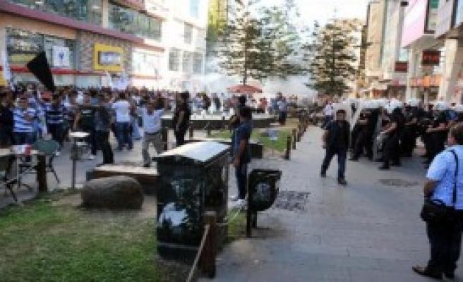 Antalya'da 14 Kobani Gözaltısı
