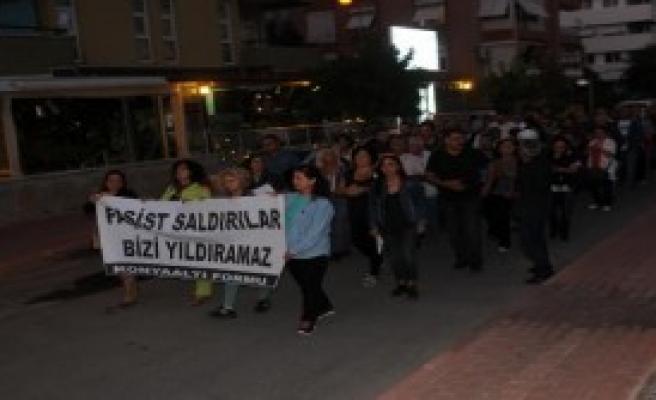 Antalya'da Foruma Saldırı Tepkisi