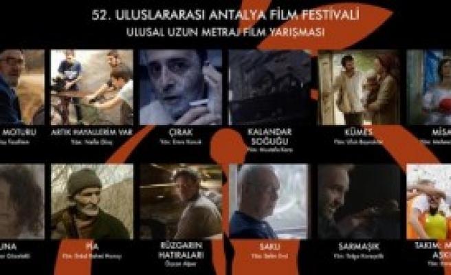 Antalya'da Yarışacak 12 Film Belli Oldu