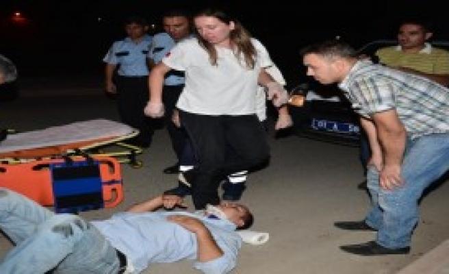 Görevli Polise Çarptı